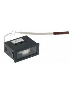 termómetro medida de montaje 58x25,5mm +20 a +120°C Rotor RTR-120L...