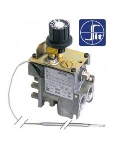 termostato de gas tipo serie 630 Eurosit 110-190°C entrada gas 3...