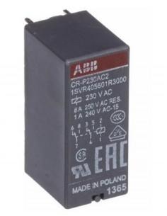 Relé ABB para circuito impreso 250V AC 2CO a 250 V 8A CR-P230AC2...
