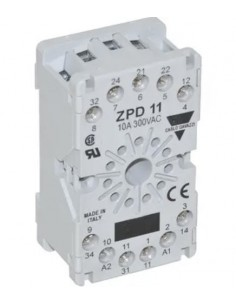 Zócalo Relé Ozti 6231.00023.14 ZPD-11 10A 300VAC OBK1500 Carlo Gavazzi