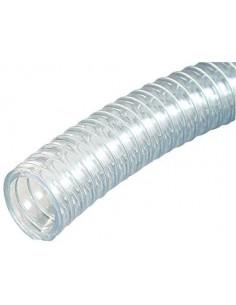 Tubo PVC Reforzado Alambre Interior Ø18mm Exterior Ø24mm para...
