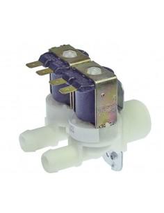 """válvula magnética doble recto 230VAC entrada 3/4"""" salida 14mm DN10..."""
