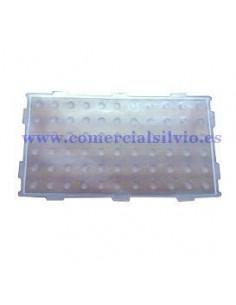 Protector de silicona transparente botonera 66 teclas Epelsa 571000071