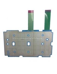 Membrana de teclado Registradora ER-4615 ER-5115