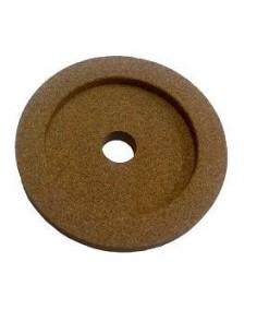 Piedra de afilar 48x9x8mm Braher Eje 8mm Grano fino 10548