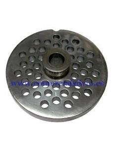 Placa de Picadora 22 Agujero de 6mm con pivote 2 muescas