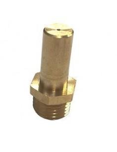 Inyector M13x1 altura 30mm gas licuado plancha HGT agujero 1,25mm