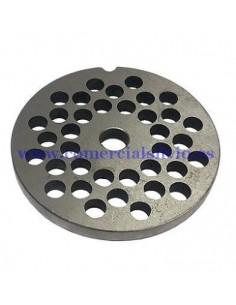 Placa Inoxidable de 32 agujero de 10mm