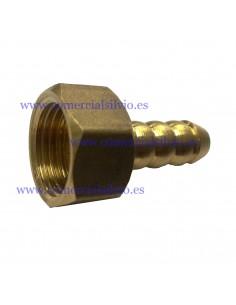 Racord 1/2 pulgada tubo a gas