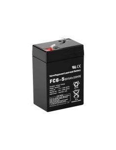 Batería Plomo Hermética 6V 4,5 Amp. 70*47*100mm