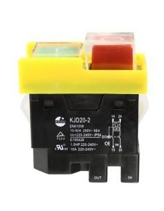 Interruptor KJD20-20 KJD17 Carcasa Amarilla