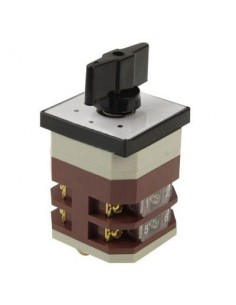 Conmutador Giratorio RUIWU  LW12-16 GB14048 500V 15A 4 Posiones de Conmutación