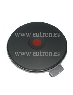 Placa de cocción ø 180mm 2000W 230V 4 bornes 8mm borde