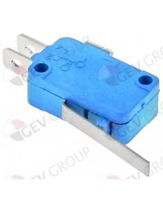 microinterruptor con manilla 250V 16A 1CO empalme conector Fasto