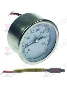 termómetro montaje ø 52mm T máx 350°C margen de medición de 0 a