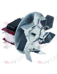 ventilador de aire caliente 220V 45W L1 70mm L2 11mm L3 25mm L4 C30R0479CLF