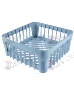 cesta para vajillas diversas L 350mm An 350mm H 150mm