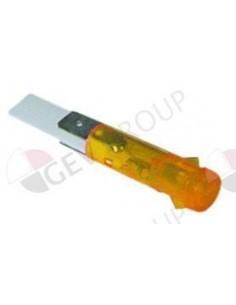 lámpara de señalización ø 9mm 230V amarillo FAGOR