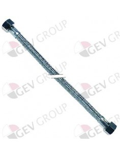 "latiguillo flexible trenza inox recto-recto DN8 3/8"" L 1000mm"