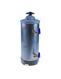 descalcificador manual con 2 válvulas Electrolux, Sammic
