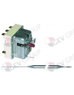 termostato de seguridad 150°C 3polos 20A bulbo ø 6mm longitud del bulbo 79mm Baron, EGO, Emmepi, Giorik, Rosinox, Silko
