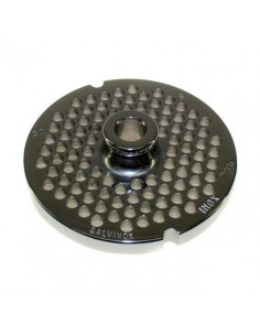 Placa de Picadora 32 agujero 6mm con pivote 2 Muescas