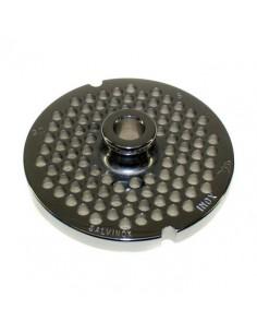 Placa Inoxidable de 32 agujero de 6mm con pivote