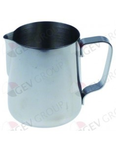jarra de leche sin tapa capacidad 0,6l capacidad 20oz ø 90mm H 1