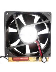 ventilador axial L 80mm An 80mm H 25mm 12V DC placa convertidora