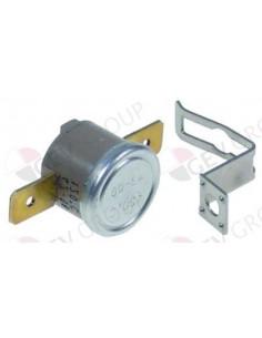 termostato de contacto 120°C 1NC 1polos 10A empalme conector Fas