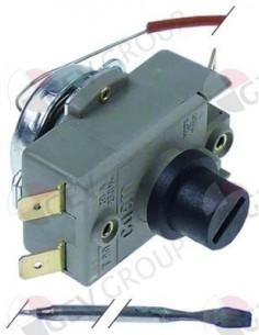 termostato de seguridad temp. desconexión 335°C 2 polos 20A sonda ø 3mm sonda L 200mm Cookmax, Sogeco, Tecnoeka, Unox
