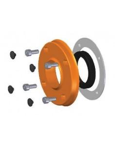 Soporte reten + Reten muelle inox + Junta plana silicona + Tapon (4uds) +Tornillo DIN 912 (4uds)