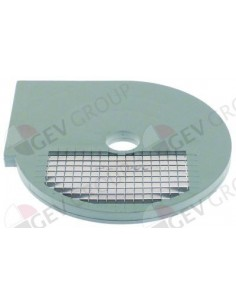 rejilla a cuadrados tipo DISCOD8 ø 205mm espesor de corte 8x8mm plástico/metal Fimar