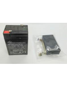 Batería Plomo Kit Balanza CAS Incluye Batería, 2 tornillos, goma soporte y pletina de subjección.