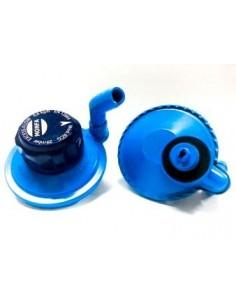Regulador de gas 20 Mbr Botellas azules Camping gas RCG