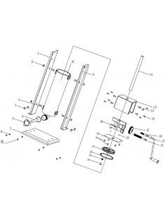 Engranaje grande Embutidora Manual SV15 despiece 15 -10