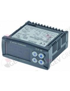 controlador electrónico TECNOLOGIC tipo TLK38HCR-- medida de montaje 71x29mm aliment. 100-240V
