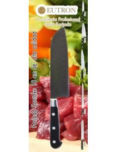 Cuchillo Santoku Alveolado Hoja de 18 cm