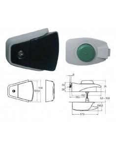 Cierre para cámara con llave (PTA. 80mm)