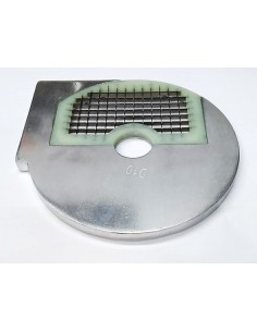 rejilla a cuadrados tipo H10 HLC300 ø 210mm soporte ø 32,5mm espesor de corte 10mm plástico
