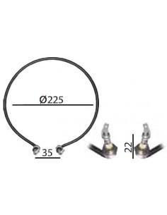 Resistencia calentador de leche 1300W Ø193mm
