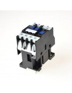 Contactor de potencia aliment. 24V AC1 20A contactos principales 3NO tipo CJX2-1210 Bobina 24V