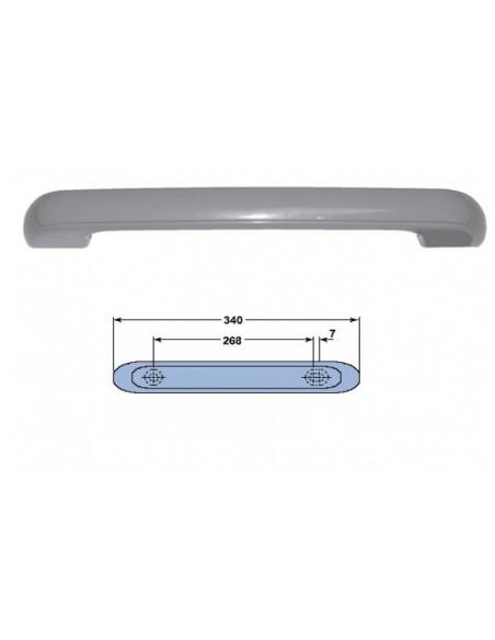 Tirador en ABS blanco para arcón frigoríifico sin llave 340mm