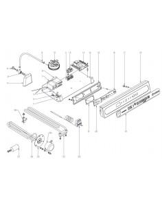 Visualizador 12V DC 50Hz 4dig Led Fagor Edesa LV-1200 LV-1500 LV-2100 Z218011000