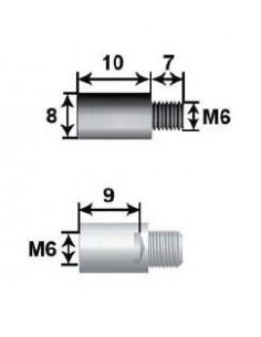 Prolongador 10mm Para Varilla  8 L10 M6