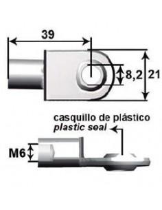 Anclaje Ojo Metal Desplazado Ø8mm L39M6