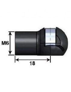 Rotula Plastico Cabeza 10 L18P M6