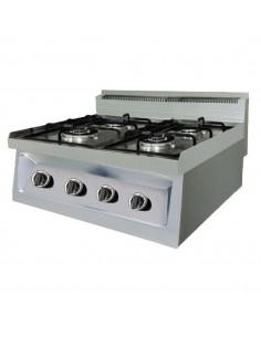 Cocina a Gas Serie 650 Ozti 2 Fuegos CE PS 4065 OSOG