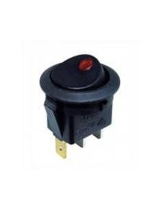 Interruptor basculante montaje ø 20mm naranja 1NO XCK-015-2
