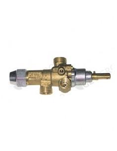grifo de gas PEL tipo 21S boquilla bypass ø 0,35mm eje ø 8x6,5mm